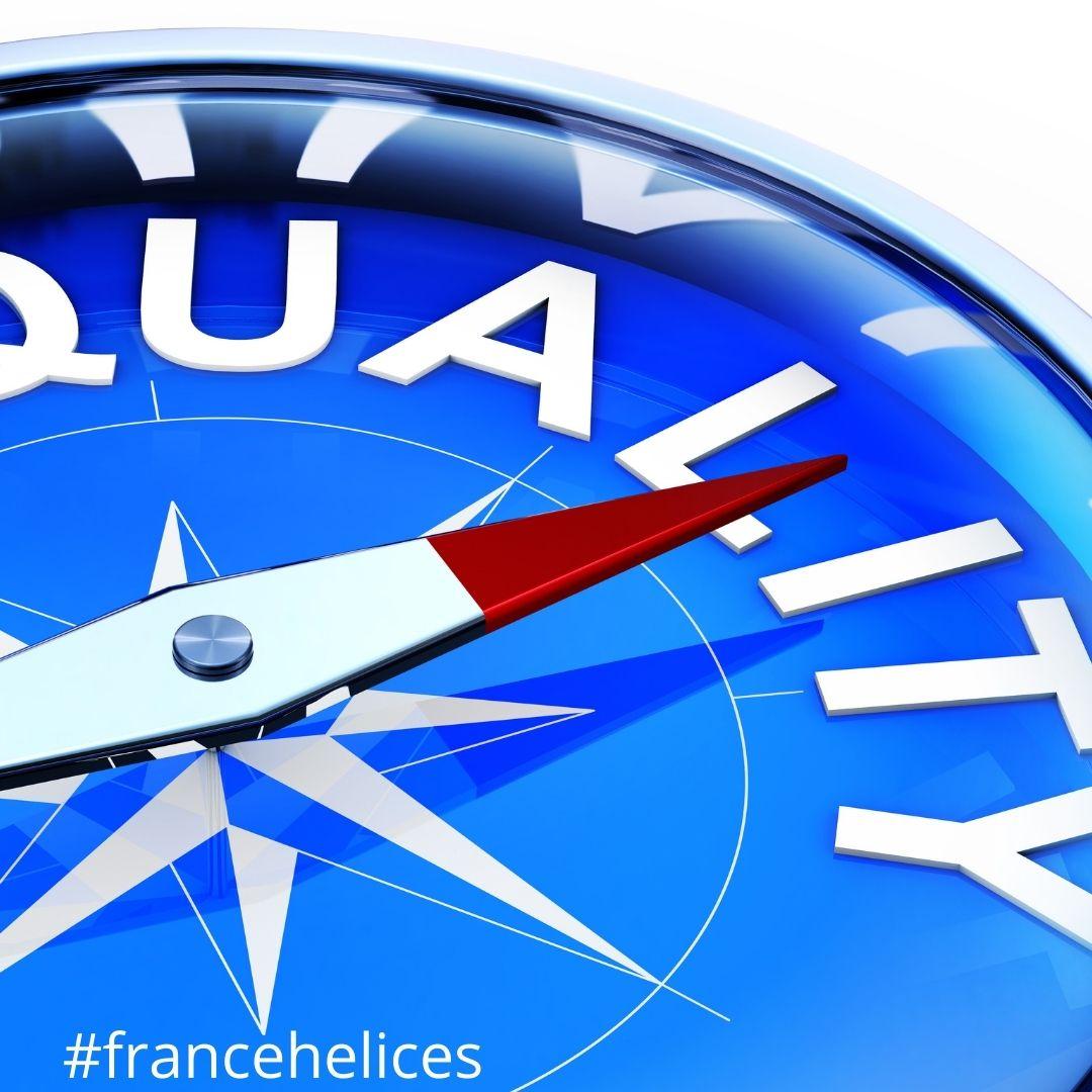 qualité satisfaction client avis FRANCE HELICES